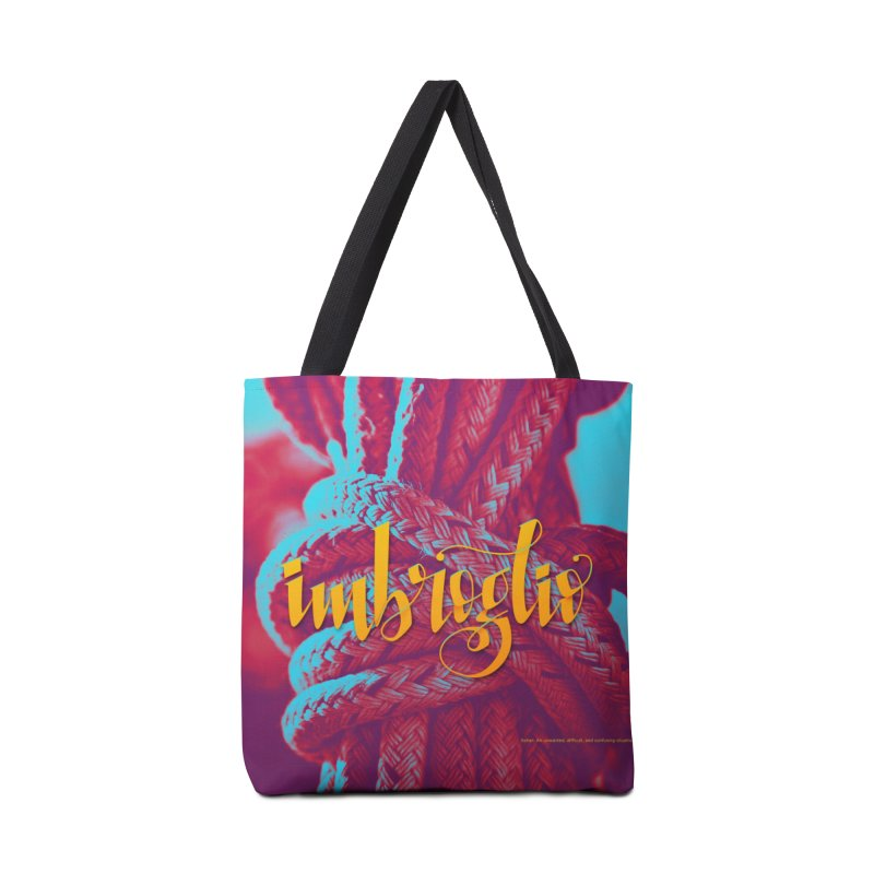 Imbroglio - beautiful words Accessories Tote Bag Bag by Andrea Garrido V - Shop