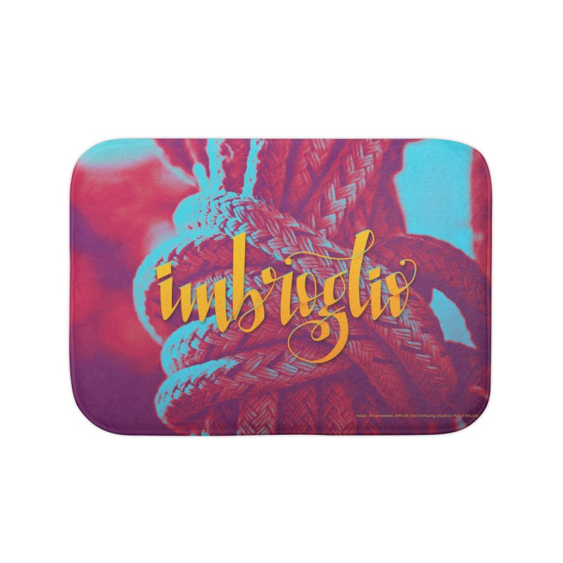 Imbroglio - beautiful words Home Bath Mat by Andrea Garrido V - Shop