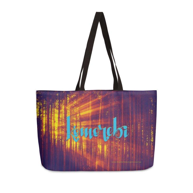 Komorebi - beautiful words Accessories Weekender Bag Bag by Andrea Garrido V - Shop