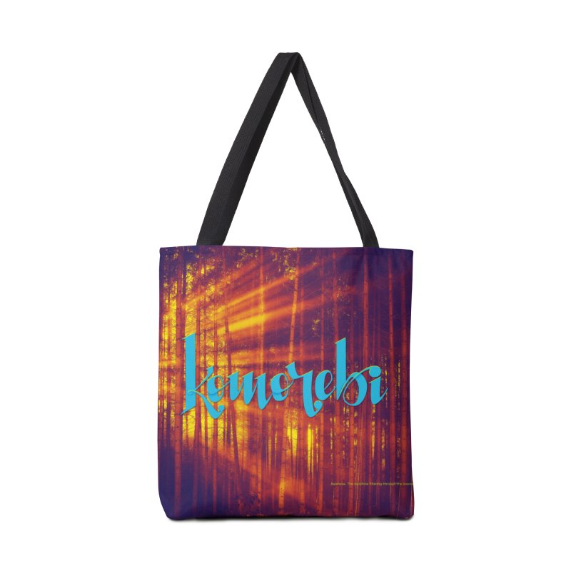 Komorebi - beautiful words Accessories Tote Bag Bag by Andrea Garrido V - Shop