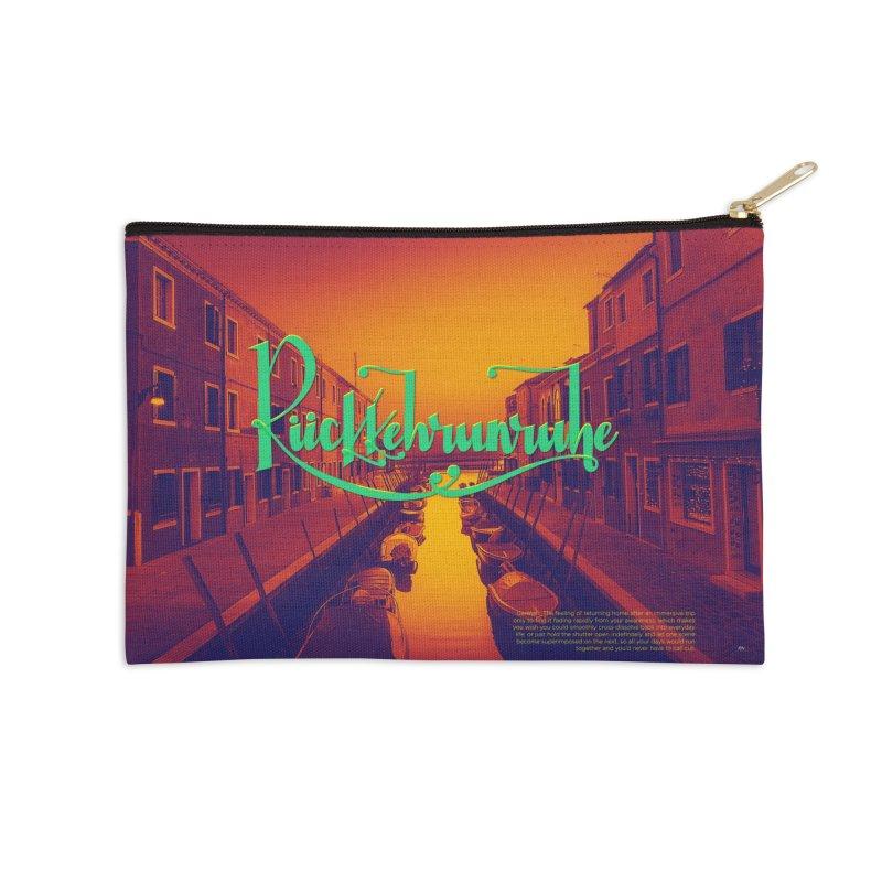 Rukkehrunruhe - travel nostalgia Accessories Zip Pouch by Andrea Garrido V - Shop