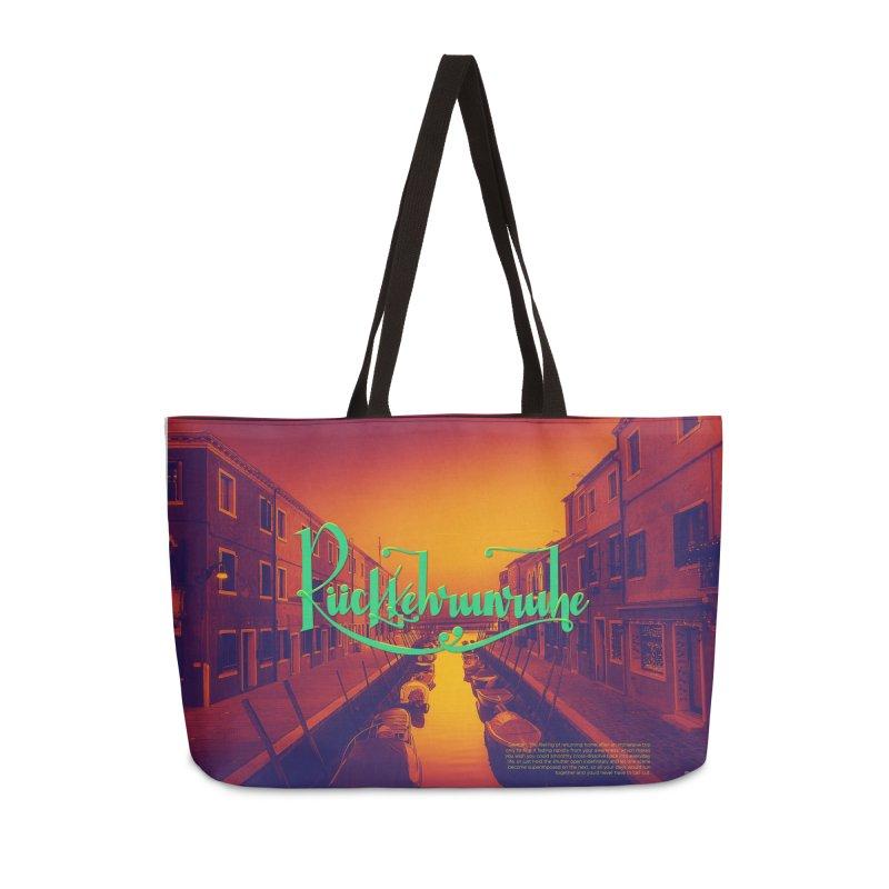 Rukkehrunruhe - travel nostalgia Accessories Weekender Bag Bag by Andrea Garrido V - Shop
