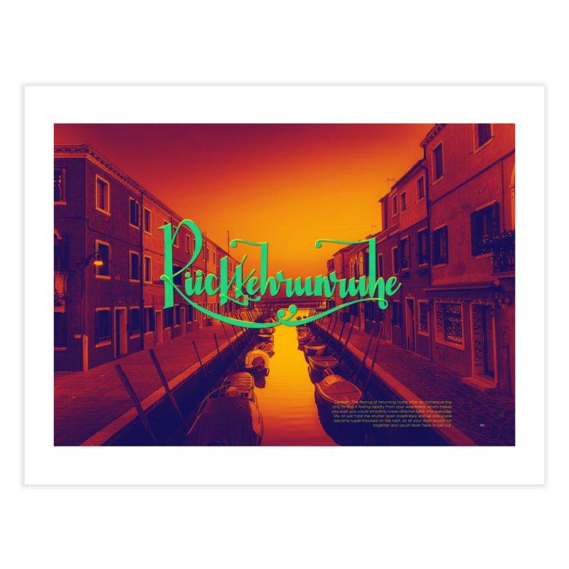 Rukkehrunruhe - travel nostalgia Home Fine Art Print by Andrea Garrido V - Shop