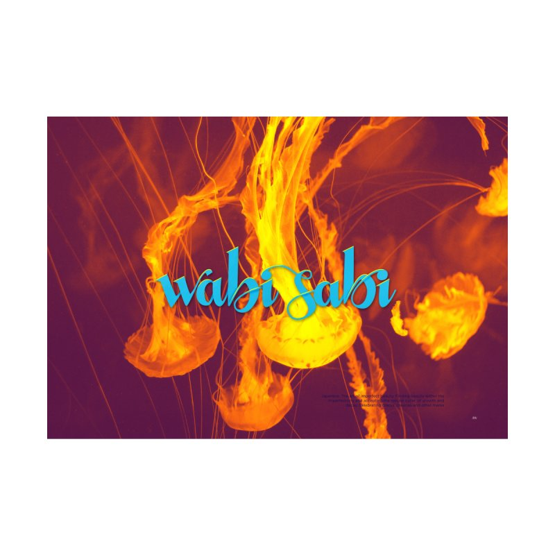 wabi sabi - beautiful words by Andrea Garrido V - Shop