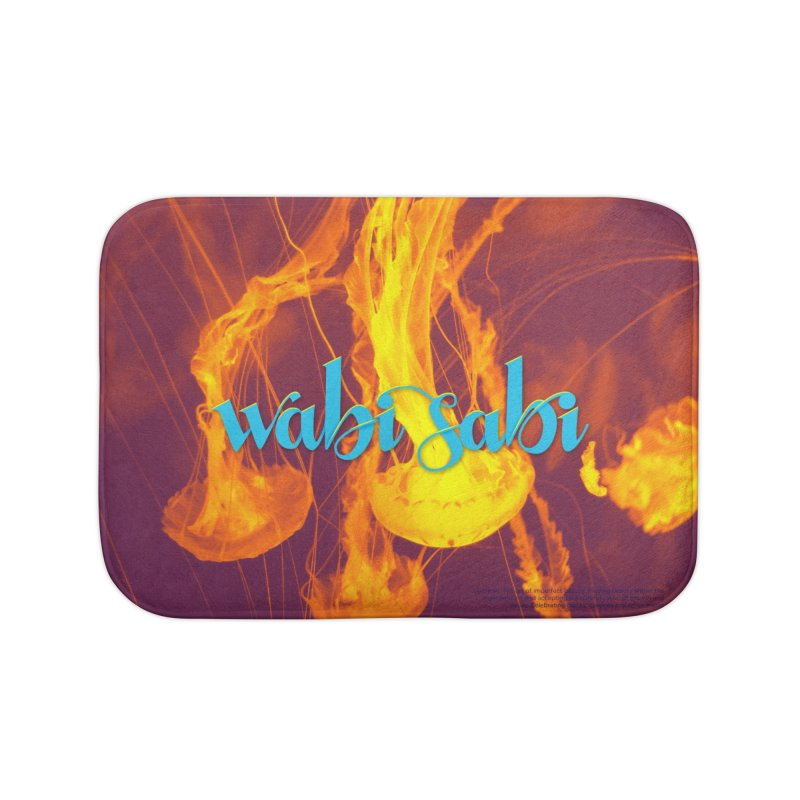 wabi sabi - beautiful words Home Bath Mat by Andrea Garrido V - Shop