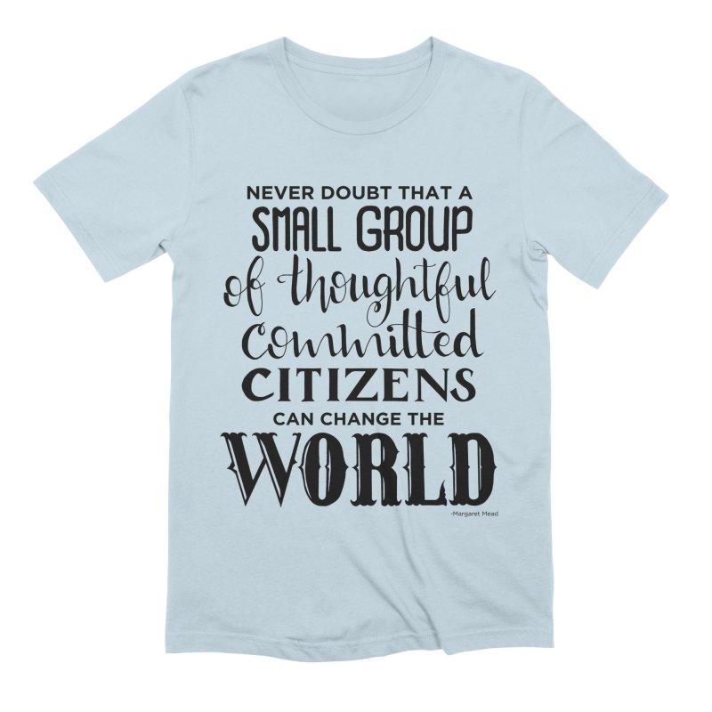 Change the world Men's Extra Soft T-Shirt by Andrea Garrido V - Shop