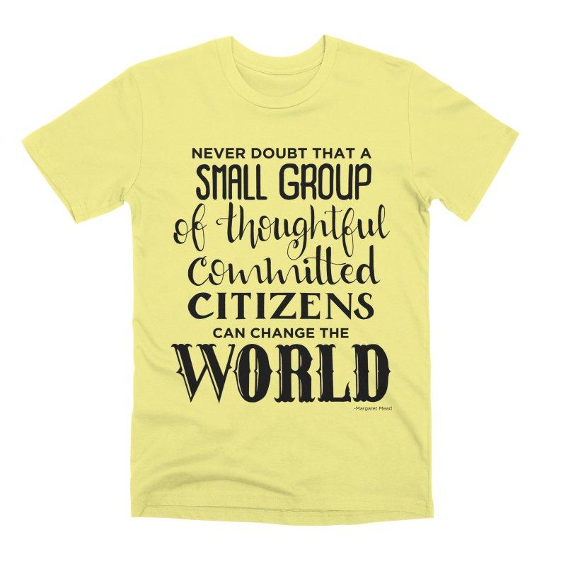 Change the world Men's Premium T-Shirt by Andrea Garrido V - Shop