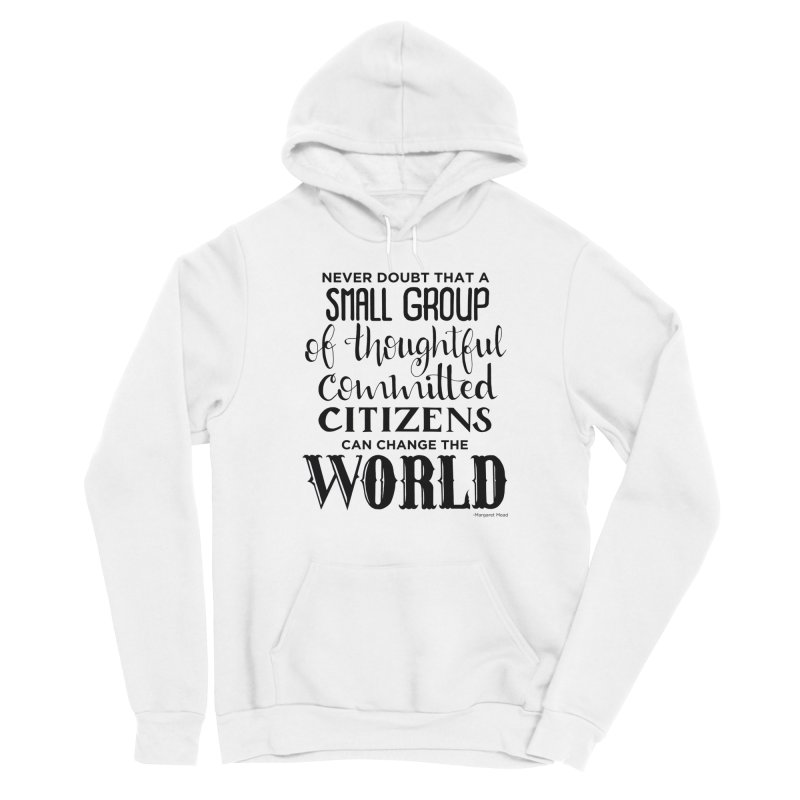 Change the world Men's Pullover Hoody by Andrea Garrido V - Shop