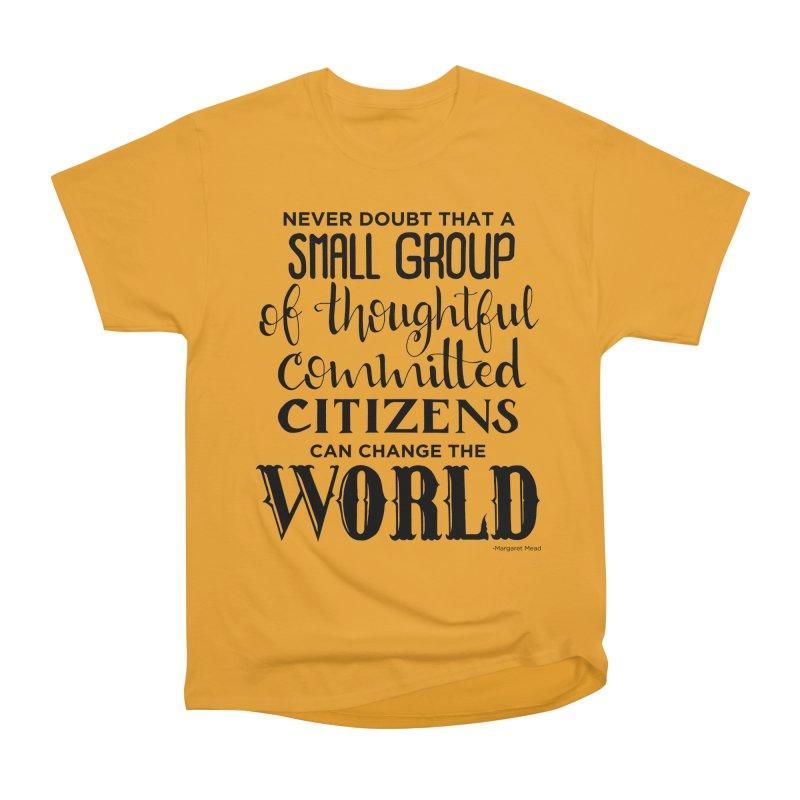 Change the world Men's Heavyweight T-Shirt by Andrea Garrido V - Shop