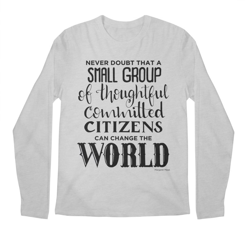 Change the world Men's Regular Longsleeve T-Shirt by Andrea Garrido V - Shop