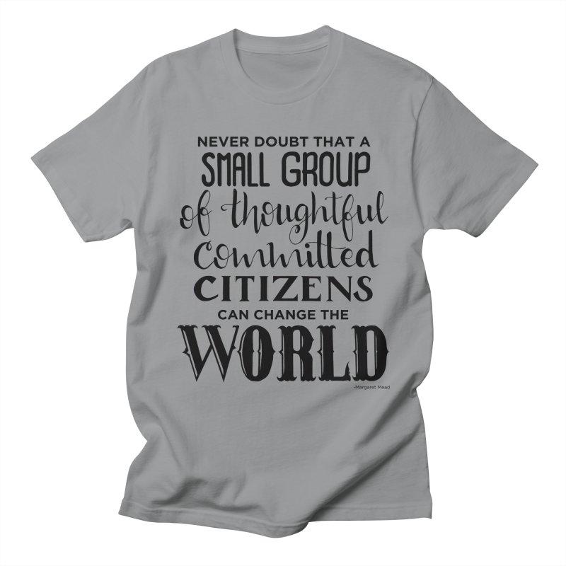 Change the world Men's Regular T-Shirt by Andrea Garrido V - Shop