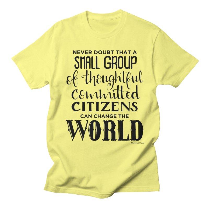 Change the world Men's T-Shirt by Andrea Garrido V - Shop