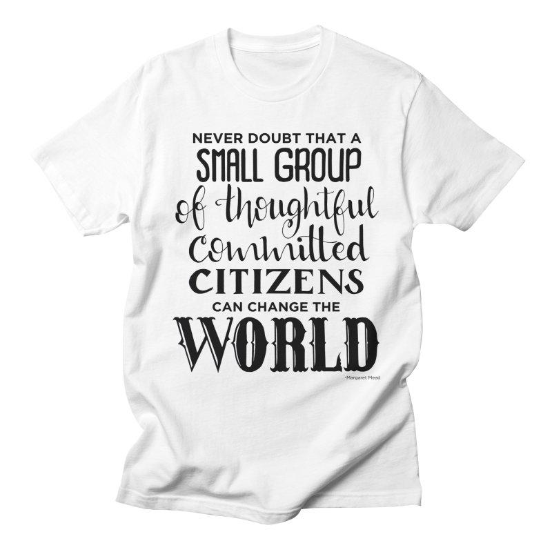 Change the world Women's Regular Unisex T-Shirt by Andrea Garrido V - Shop