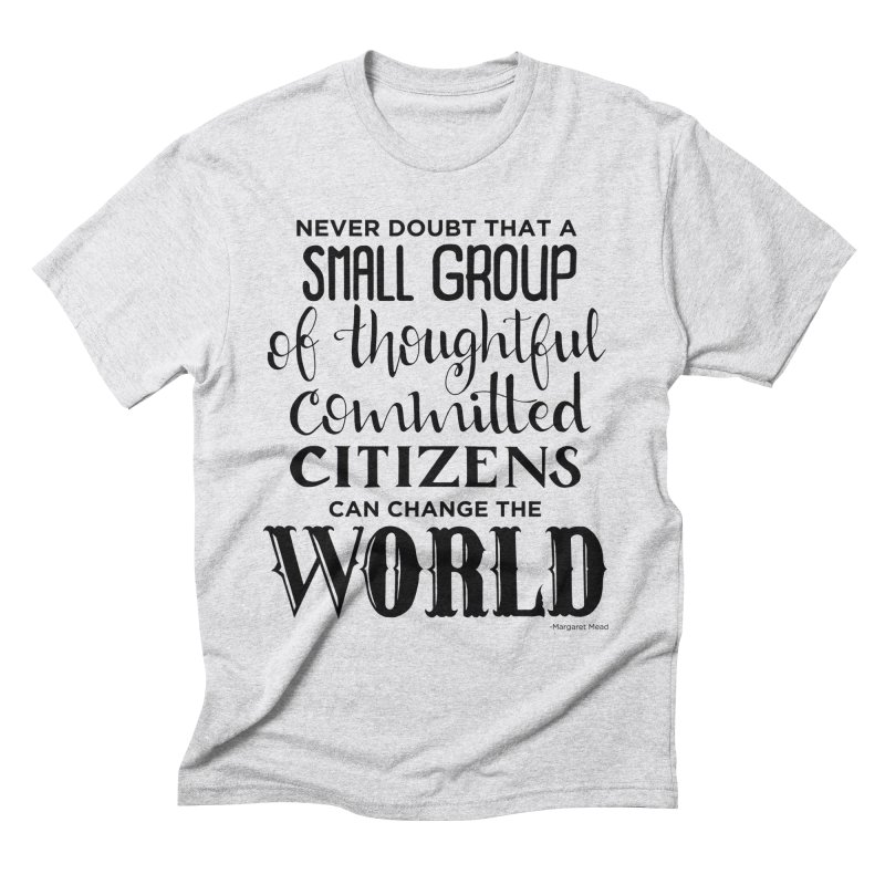 Change the world Men's Triblend T-Shirt by Andrea Garrido V - Shop