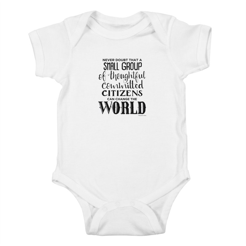 Change the world Kids Baby Bodysuit by Andrea Garrido V - Shop