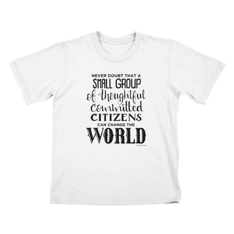 Change the world Kids T-Shirt by Andrea Garrido V - Shop