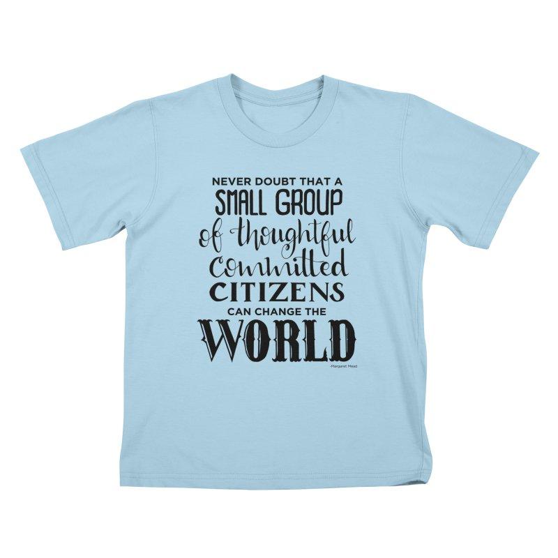 Change the world Kids T-Shirt by Andrea Garrido V - Shop