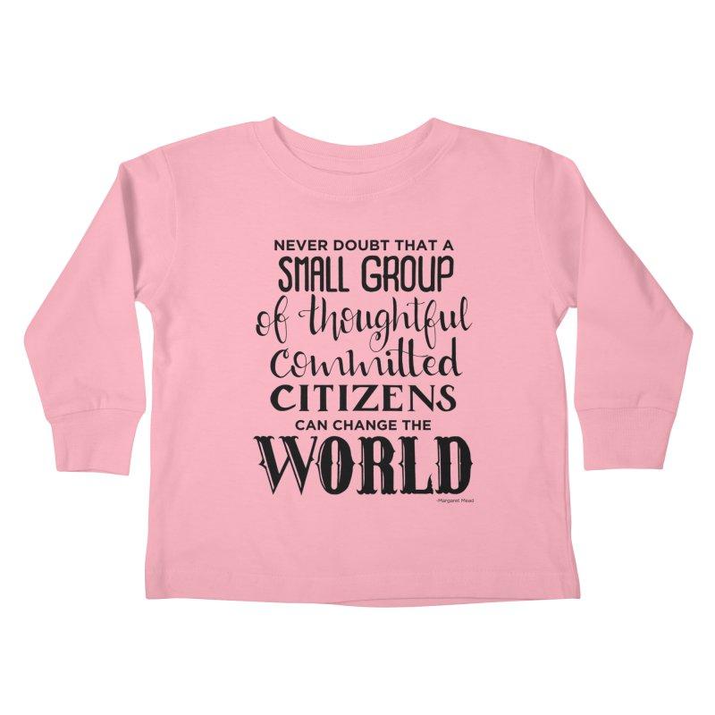 Change the world Kids Toddler Longsleeve T-Shirt by Andrea Garrido V - Shop