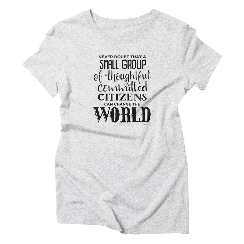 Change the world Women's T-Shirt by Andrea Garrido V - Shop