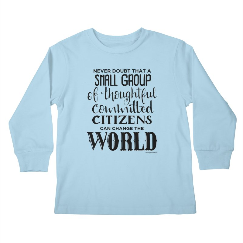 Change the world Kids Longsleeve T-Shirt by Andrea Garrido V - Shop