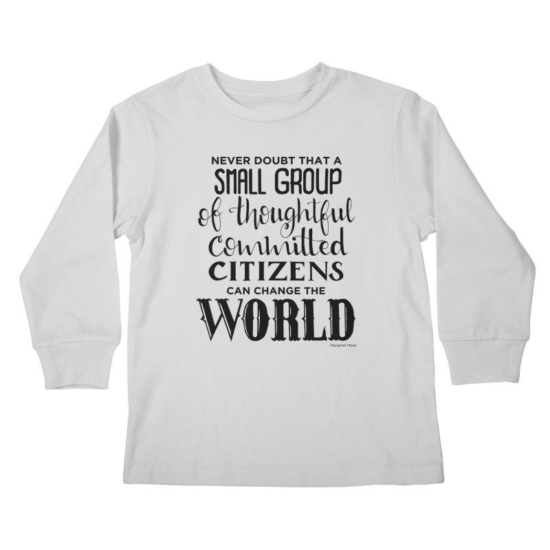 Change the world Kids Longsleeve T-Shirt by Andrea Garrido V - Shop