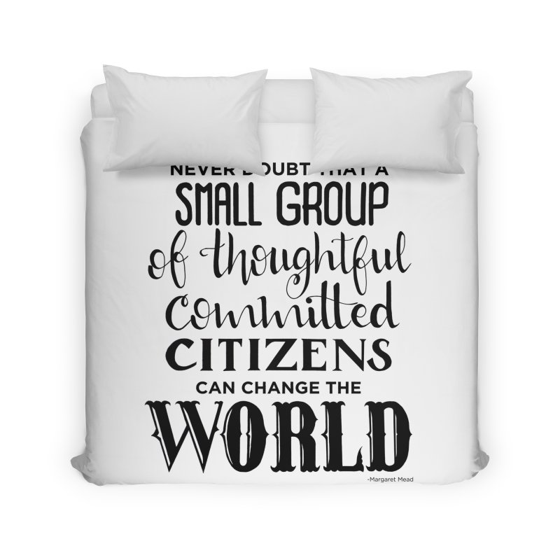 Change the world Home Duvet by Andrea Garrido V - Shop