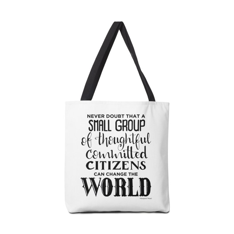 Change the world Accessories Tote Bag Bag by Andrea Garrido V - Shop