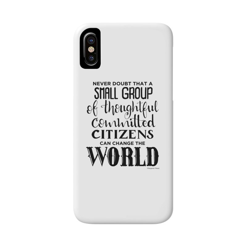 Change the world Accessories Phone Case by Andrea Garrido V - Shop