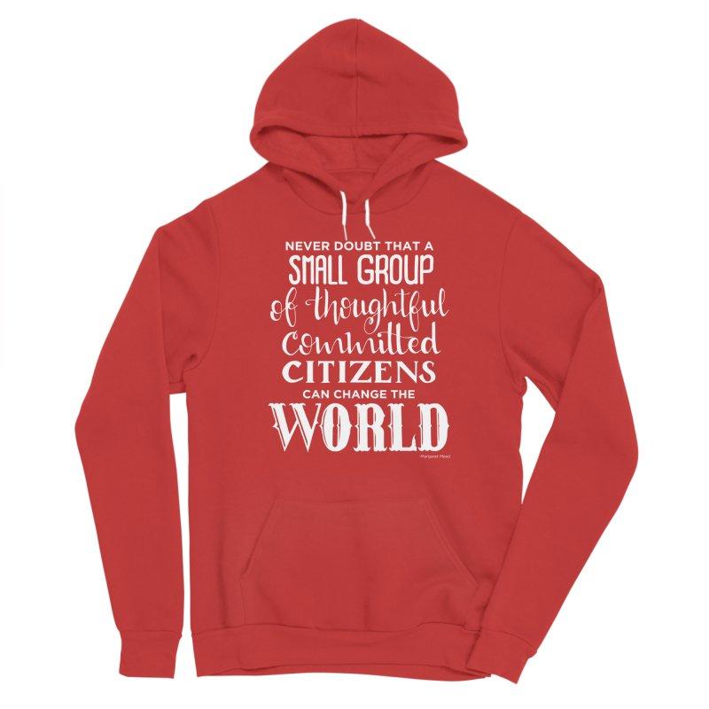 Change the world - white version Men's Pullover Hoody by Andrea Garrido V - Shop