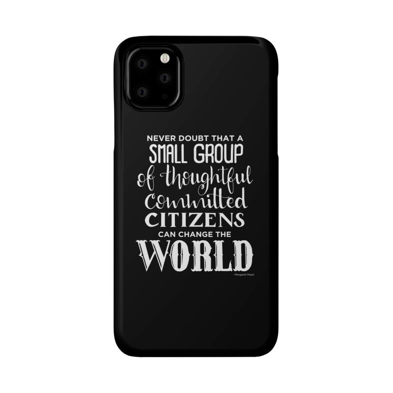 Change the world - white version Accessories Phone Case by Andrea Garrido V - Shop