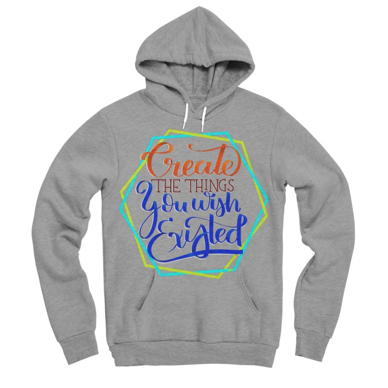 Create the things you wish existed Women's Sponge Fleece Pullover Hoody by Andrea Garrido V - Shop