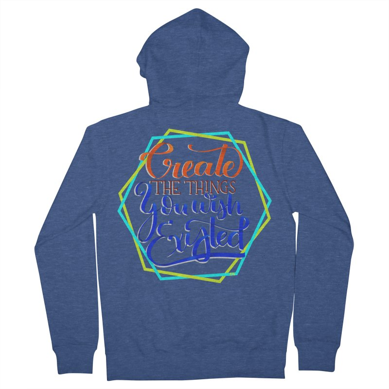 Create the things you wish existed Men's Zip-Up Hoody by Andrea Garrido V - Shop