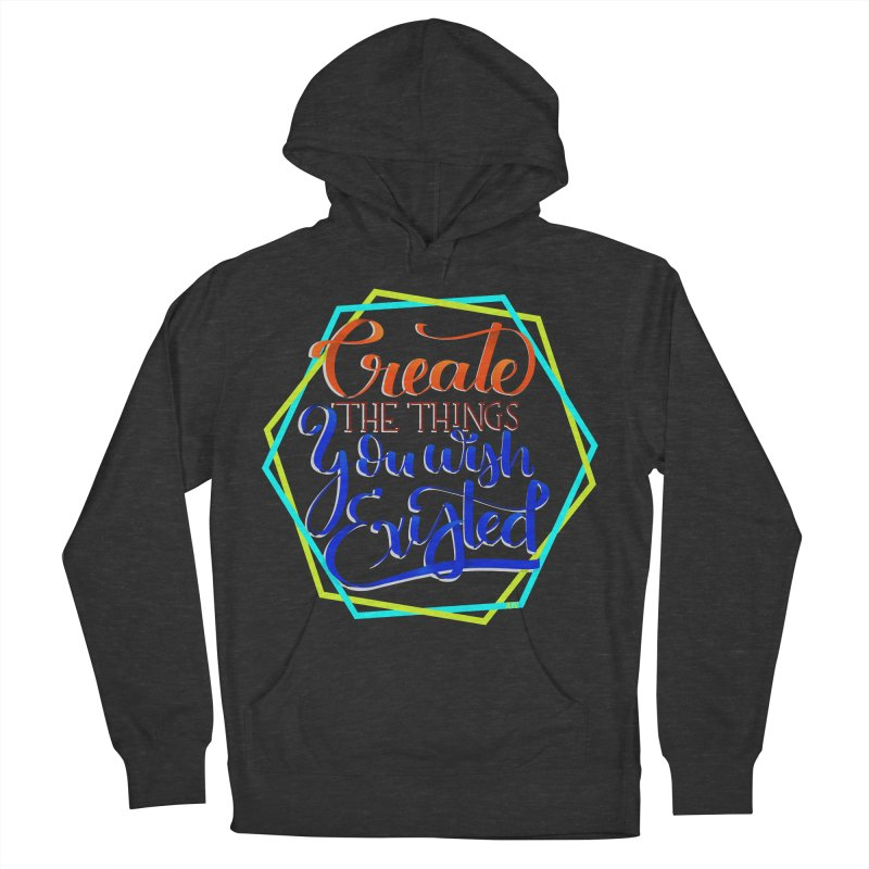 Create the things you wish existed Men's French Terry Pullover Hoody by Andrea Garrido V - Shop