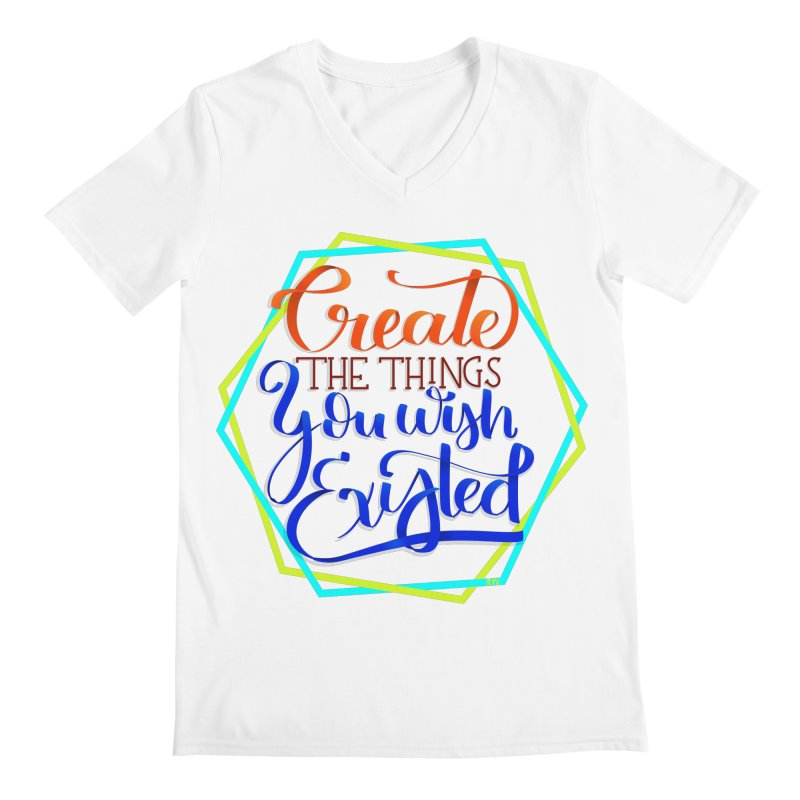 Create the things you wish existed Men's Regular V-Neck by Andrea Garrido V - Shop