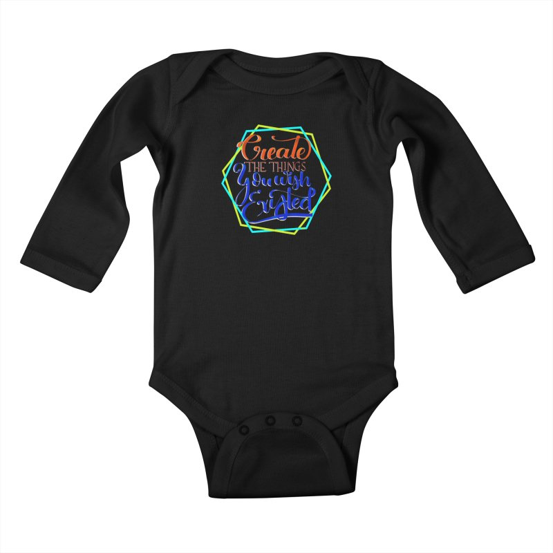 Create the things you wish existed Kids Baby Longsleeve Bodysuit by Andrea Garrido V - Shop
