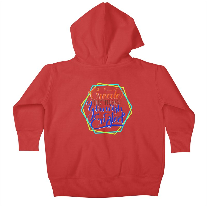Create the things you wish existed Kids Baby Zip-Up Hoody by Andrea Garrido V - Shop