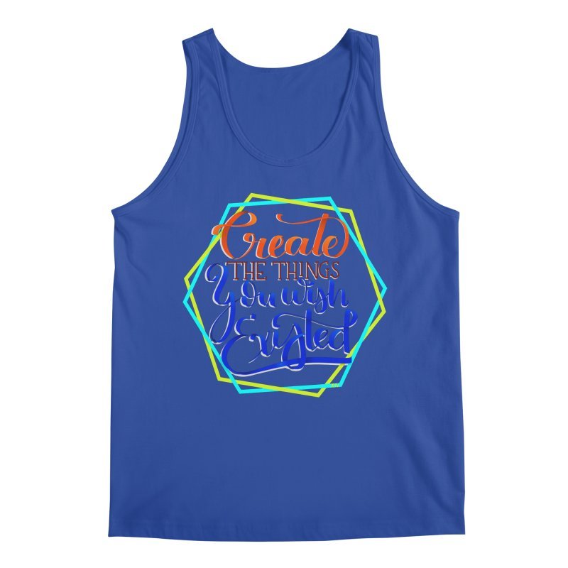 Create the things you wish existed Men's Regular Tank by Andrea Garrido V - Shop