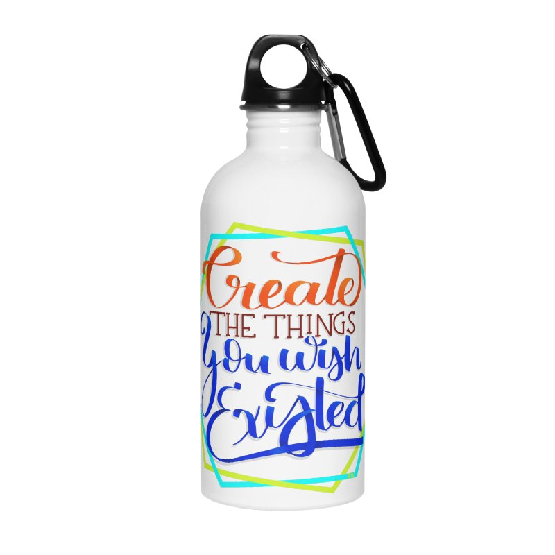 Create the things you wish existed Accessories Water Bottle by Andrea Garrido V - Shop