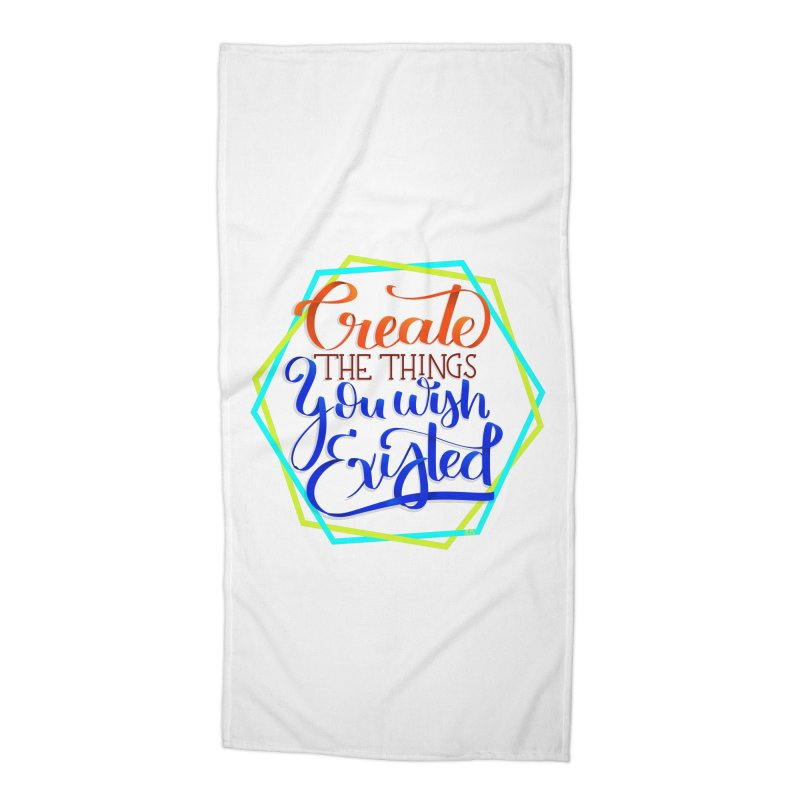 Create the things you wish existed Accessories Beach Towel by Andrea Garrido V - Shop