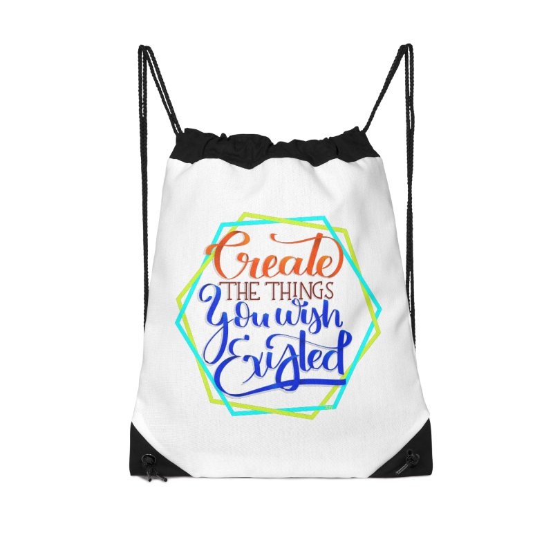 Create the things you wish existed Accessories Drawstring Bag Bag by Andrea Garrido V - Shop