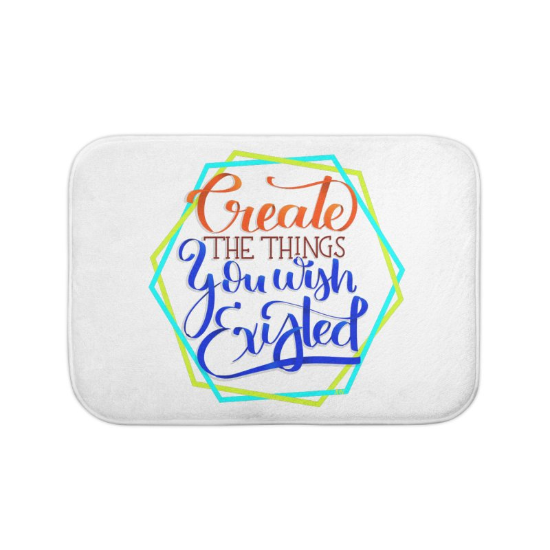 Create the things you wish existed Home Bath Mat by Andrea Garrido V - Shop