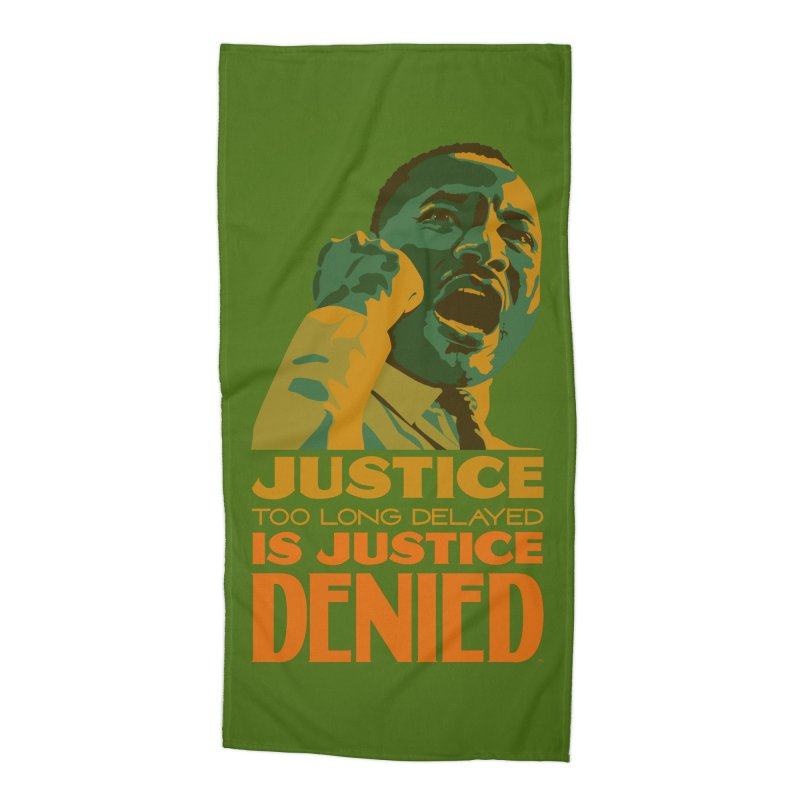 Justice delayed is justice denied Accessories Beach Towel by Andrea Garrido V - Shop