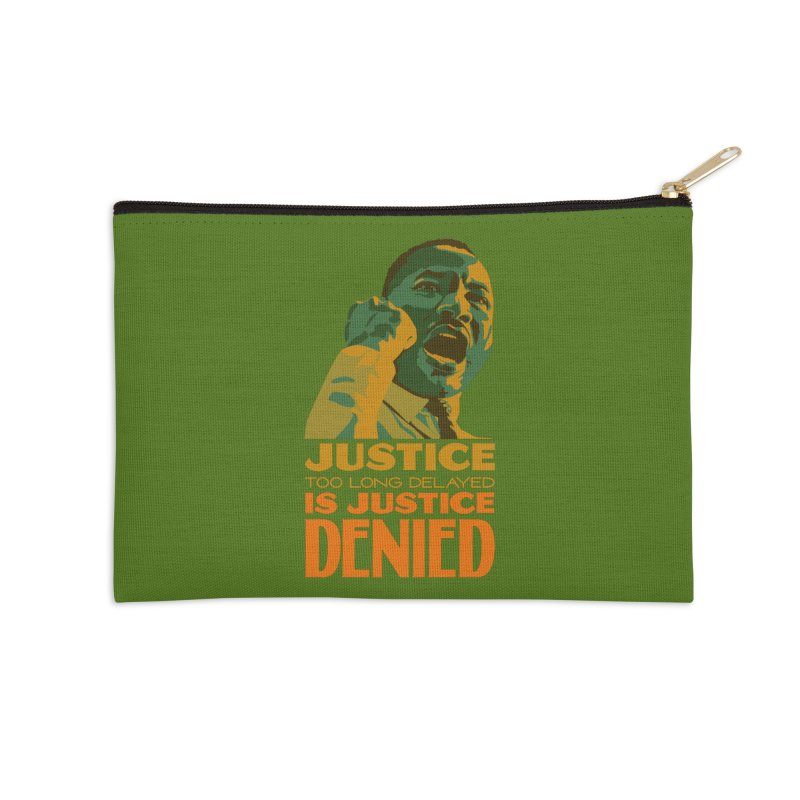Justice delayed is justice denied Accessories Zip Pouch by Andrea Garrido V - Shop