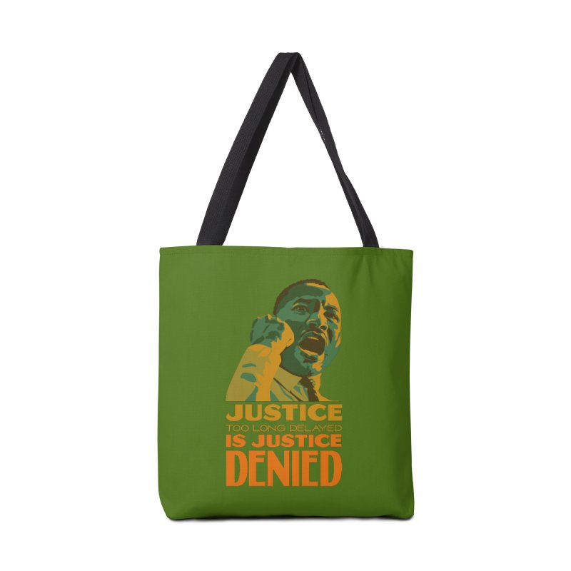 Justice delayed is justice denied Accessories Tote Bag Bag by Andrea Garrido V - Shop