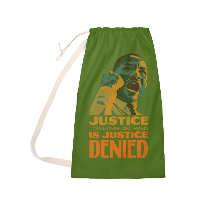 Justice delayed is justice denied Accessories Laundry Bag Bag by Andrea Garrido V - Shop