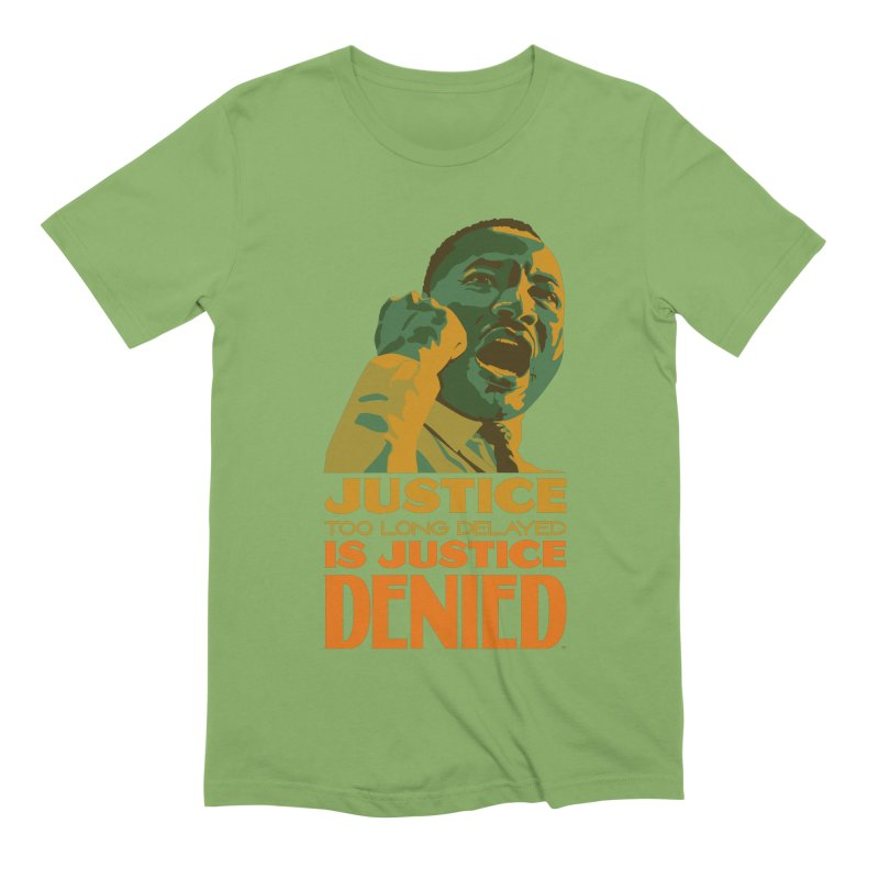 Justice delayed is justice denied Men's Extra Soft T-Shirt by Andrea Garrido V - Shop