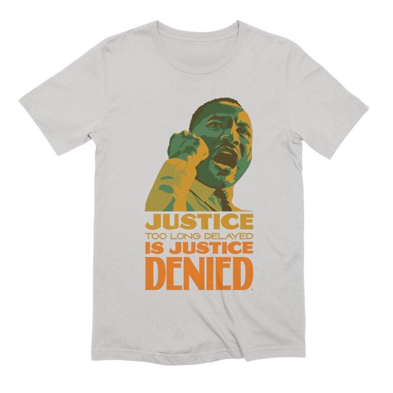 Justice delayed is justice denied Men's T-Shirt by Andrea Garrido V - Shop