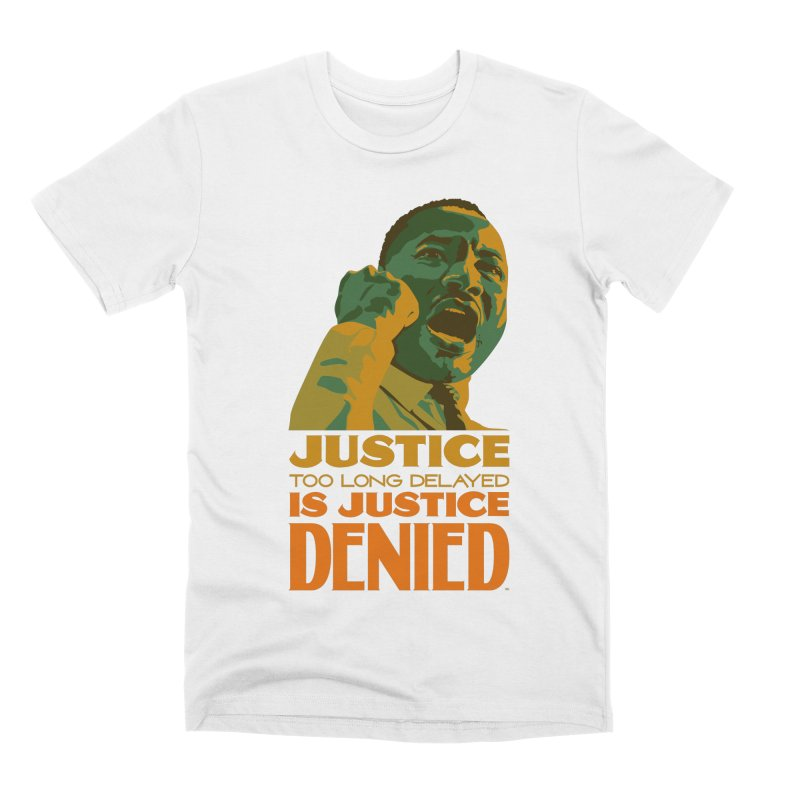 Justice delayed is justice denied Men's Premium T-Shirt by Andrea Garrido V - Shop