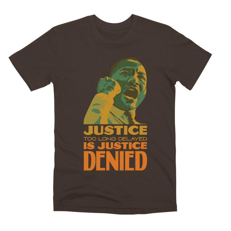 Justice delayed is justice denied Men's Premium T-Shirt by Andrea Garrido V - Shop