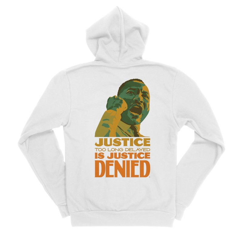 Justice delayed is justice denied Men's Zip-Up Hoody by Andrea Garrido V - Shop